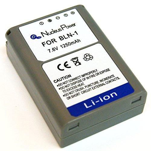 1年保証  オリンパス BLN-1 互換バッテリー OLYMPUS OM-D E-M1/OM-D E-M5/PEN E-P5...Nucleus Power製 (バッテリー1個)