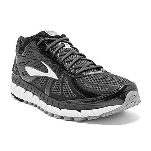 Brooks Men's Beast '16 Running Shoes (13 4E-Extra Wide, Anthracite/Black/Silver) (Mens Extra Wide Running Shoes compare prices)