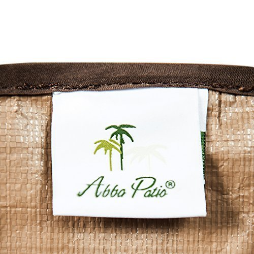 Abba Patio Outdoor Rectangular Cushion/Cover Storage Bag, Protective Zippered Storage Bags with Handles, 79L x 30W x 24H