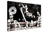 Kunstdruck auf Leinwand, Motiv: Lego Star Wars -...