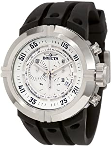 Invicta Force Collection White Dial Chronograph Mens Watch 0840
