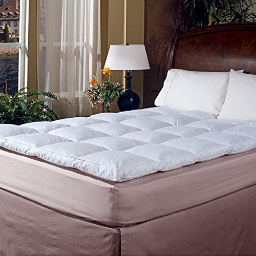Buy Cheap Blue Ridge Classic 2 in. Featherbed, White, 100% Cotton, Twn