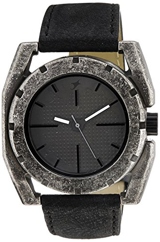 Fastrack-Metalhead-Analog-Black-Dial-Mens-Watch-3107SL01