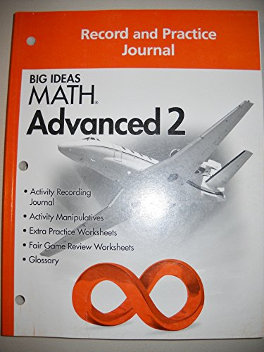 Big Ideas Math Record and Practice Journal Advanced 2 7th - Import It All