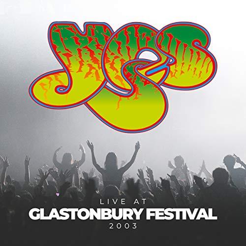 CD : YES - Live At Glastonbury Festival 2003 (2 Discos)