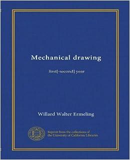 hvac drawing symbols chart mechanical drawing: first[-second] year: willard walter ...