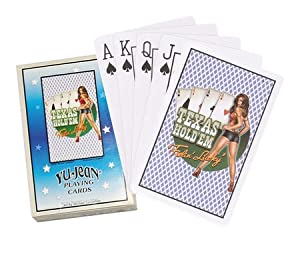 Texas Hold Em Feelin Lucky - Deck of Playing Cards