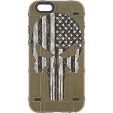 """buy Limited Edition - Authentic Made In U.S.A. Magpul Industries Bump Case For Apple Iphone 6/ Iphone 6S (Standard 4.7"""" Size) (Fde, Punisher (B/W Usa Flag)"""