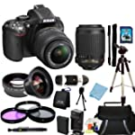 Nikon D5200 Digital SLR Camera with 1...