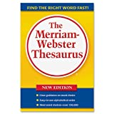 MerriamWebster Paperback Thesaurus