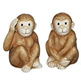 Cute Baby Monkeys S/P Salt & Pepper Shakers