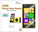 JOTO Premium Screen Protector Film HD Ultra Clear (Invisible) for Nokia Lumia 1020 with Lifetime Replacement Warranty (3 Pack)