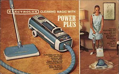 Vintage Advertising Postcard: Electrolux Power Plus Vacuum Cleaner Pottsville,