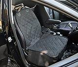シートカバー 防水加工車 シートカバー 座席カバー シートカバー 車 カーグッズ カー用品 カー用品 通販 犬用ドライブボックス 軽自動車 シートカバー 運転席カバー 助手席カバー ペットドライブシート後部座席用 汚れを防止 (ブラック)