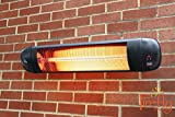51vLJRPIqlL. SL160  - BEST BUY #1 Firefly 2kW Adjustable Garden Outdoor Wall Mounted Patio Heater with Remote Control