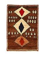 Kilim Carpets by Jalal Alfombra Gashgai (Marrón/Beige)