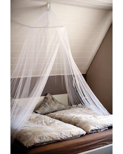 Moustiquaire lit les bons plans de micromonde - Moustiquaire baldaquin pour lit double ...