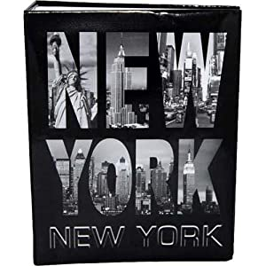 new york photo album letters med new york photo albums new york souvenirs. Black Bedroom Furniture Sets. Home Design Ideas