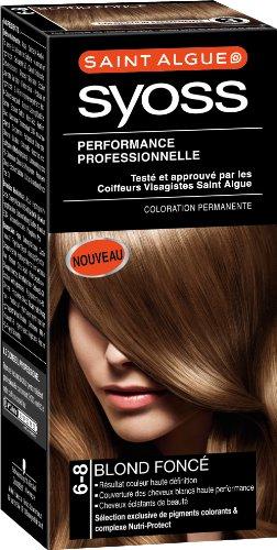 3 saint algue syoss coloration permanente blond fonc 6 8 - Coloration Blond Fonc