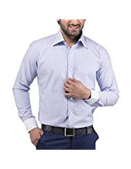 Tag & Trend Cotton Formal Shirt Slim Fit Sky Blue Color For Men
