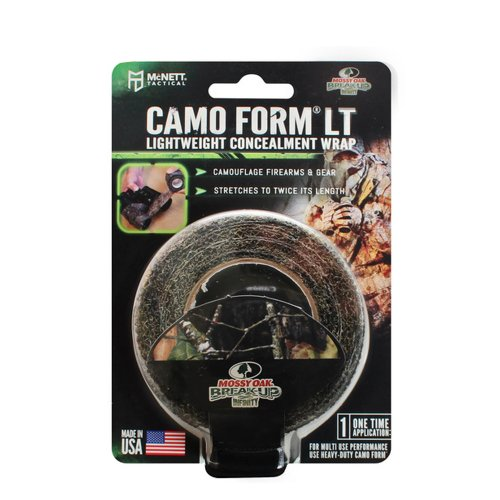Mcnett Camo Form Lt Tactical Lightweight Stretch Gun Gear Wrap (4 Styles) (Mossy Oak Break Up Infinity)
