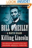 Killing Lincoln by Bill O'Reilly book cover