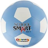 School Smart Soccer Ball - Size 5 - Blue