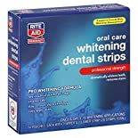 Rite Aid Pharmacy Whitening Dental Strips, Professional Strength, 14 applications