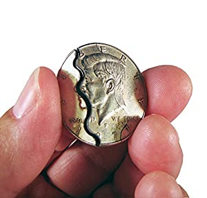 Magic Folding Half Dollar - The One Stop Fun Shop