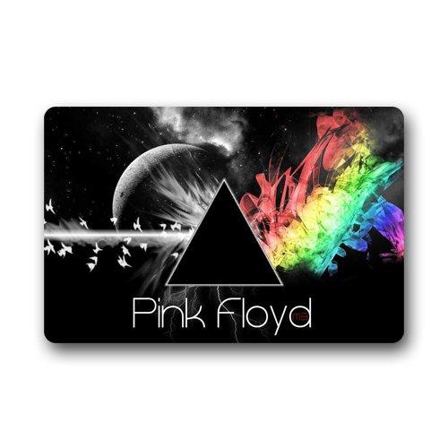 Custom Pink Floyd animali musica rock porta tappetini antiscivolo, lavabile in lavatrice, per interni ed esterni zerbino 59,9x 39,9cm