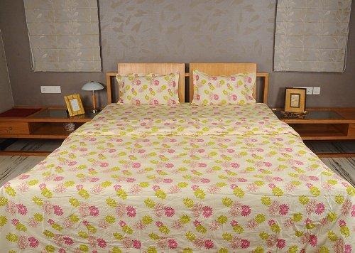 Imagen 1 de Inicio Diseño decorativo Victoria Bed Spread hoja de cama Set With One Quilt y fundas de almohada a juego