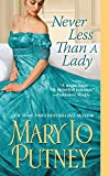 Never Less Than A Lady (The Lost Lords series)