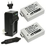 Wasabi Power Battery and Charger Kit for Canon LP-E8, EOS 550D, EOS 600D, EOS Rebel T2i, EOS Rebel T3i, EOS Rebel T4i