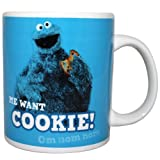 Cookie Monster Mug, Sesame Street, Gift Boxed