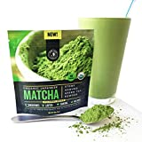 Jade Leaf - Organic Japanese Matcha Green Tea Powder, Classic Culinary Grade (For Blending & Baking) - [30g Starter Size]