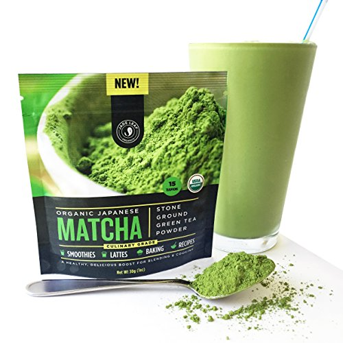 Jade Leaf - Organic Japanese Matcha Green Tea Powder, Culinary Grade (For Blending & Baking) - [30g Starter Size] (Matcha Organic Green Tea Powder compare prices)
