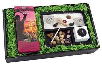 Geschenk Set 'Zengarten + Tee'