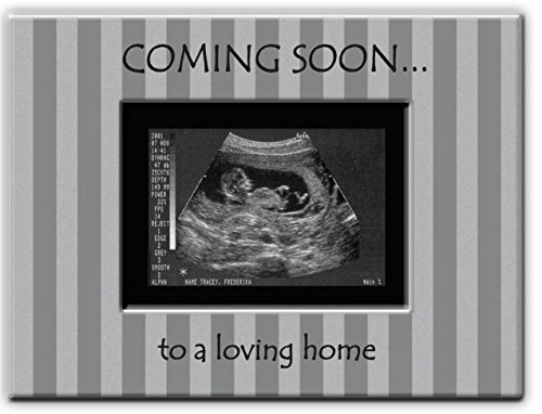Cathedral Art MF246 Sonogram Baby Metal Frame, 8 by 6-Inch