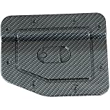 E Autogrilles 66 2701cf Black Carbon Fiber Look Abs Gas