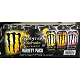 Monster Rehab Tea & Energy Variety Pack 24 Count 15.5 FL OZ