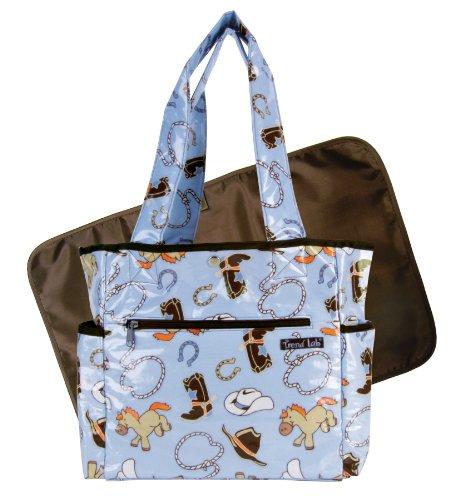 Cowboy Diaper Bags : Trend lab tulip tote diaper bag cowboy baby bags central