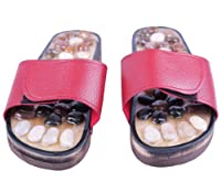 Massage Slippers Shoes Sandals Natural Stones