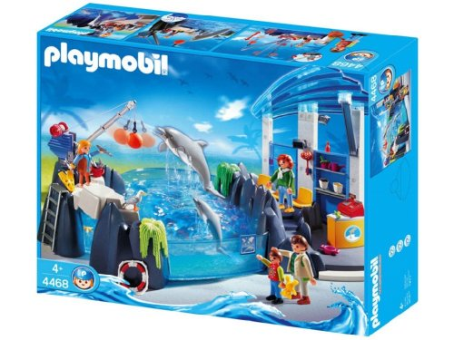 Order playmobil zoo dolphin basin automotive best price for Piscine playmobil