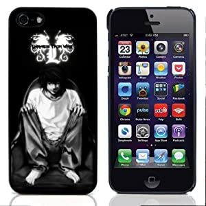 GadgetTown Japanese Anime Series - DEATH NOTE Character Hard Plastic and Aluminum Back Case for Apple iPhone 5