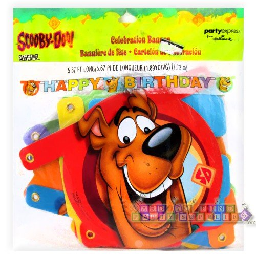 Scooby-Doo Close-Ups Jointed Banner - 1
