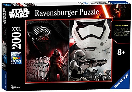 Ravensburger 12817 - Star Wars Episode VII Puzzle 200 Pezzi