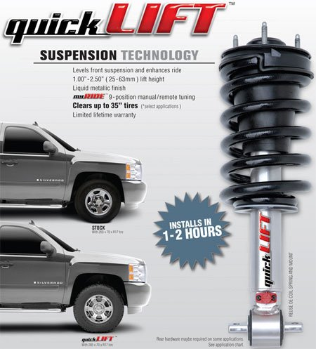 Rancho Rs999775 Rs9000Xl Series Shock Absorber
