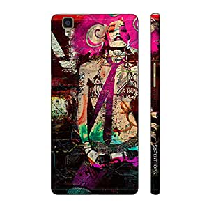 Enthopia Designer Hardshell Case POP IT UP GIRL Back Cover for Oppo R7s
