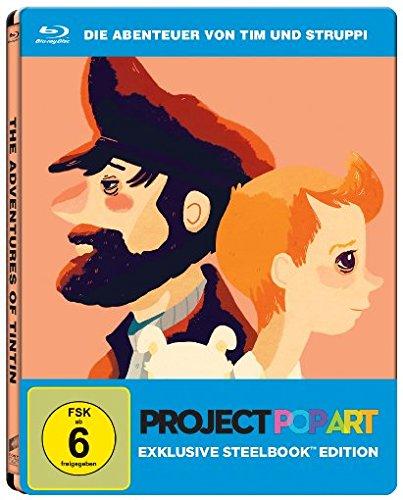 Die Abenteuer von Tim und Struppi - Das Geheimnis der Einhorn - Steelbook [Blu-ray]