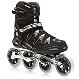 Rollerblade Mens Igniter 100 Fitness Skate, 13, Black by Rollerblade